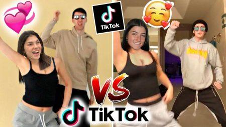 Celine & Michiel – Viral Koppel TikToks Nadoen vs Charli D'Amelio – Challenge ❤️🔥#114