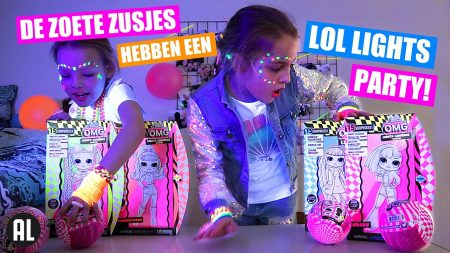 De Zoete Zusjes – De Zoete Zusjes En De LOL Lights Party!! [LOL Lights Surprise Doll, Glitter En Pets]