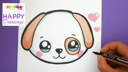 Hoe Teken Je – Een Leuke Puppy