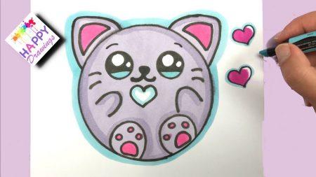 Hoe Teken Je – Een Kitten Donut