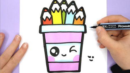 Hoe Teken Je – Een Potje Met Potloden