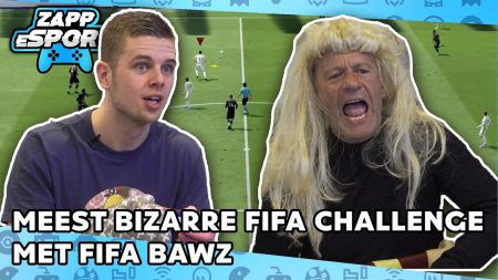Zappsport – Pruiken, Trampolines En Meer Chaos In Bizarre FIFA Challenge Met Fifa Bawz – FIFA 20