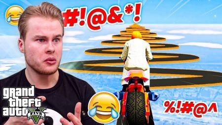 """Royalistiq – """"Ik Ben Er Klaar Mee"""" Moeilijkste GTA Race Ooit! 😱 – GTA 5 Online Jobs"""
