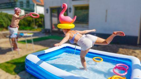 Enzo Knol – Spelletjes Met Het Zwembad Bij Milan (Zonder Dat Hij Het Weet) 😂 #2449