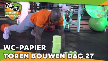Zappsport – Zappsport@Home Workout Met Steven Brunswijk – Dag 27
