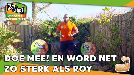 Zappsport – Zappsport@Home Workout Met Roy Meyer – Dag 12