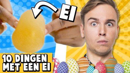 Dylan Haegens – 10 Dingen Die Je Met Een Ei Kunt Doen!