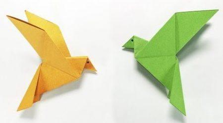 Origami – Papegaai