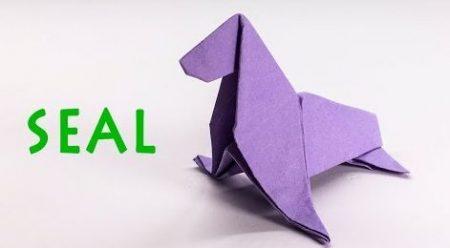 Origami – Zeehond