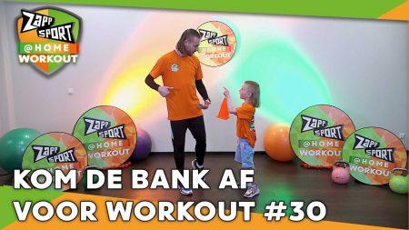 Zappsport – Zappsport@Home Workout Met Nathan Rutjes – Dag 30