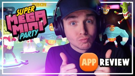 Dylan Haegens Gaming – SuperMegaMiniParty – App Review