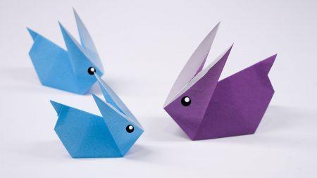 Origami – Konijn