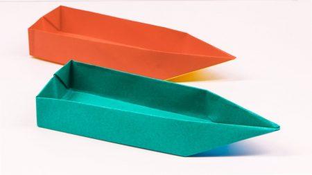 Origami – Boot