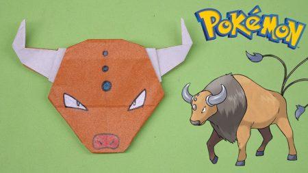 Origami – Pokemon Tauros