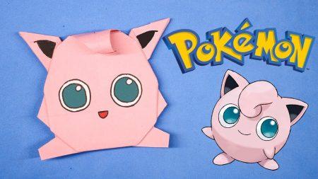Origami – Pokemon Jigglypuff