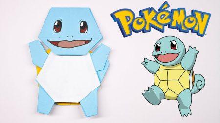 Origami – Pokemon Squirtle