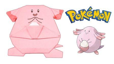 Origami – Pokemon Chansey