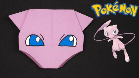 Origami – Pokemon Mew