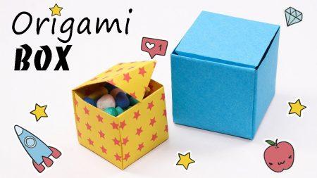 Origami – Snoep Doosje