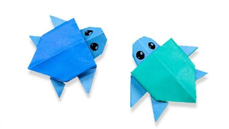 Origami – Schildpad