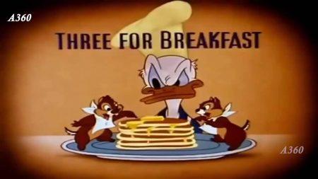 Donald Duck – Drie Voor Het Ontbijt
