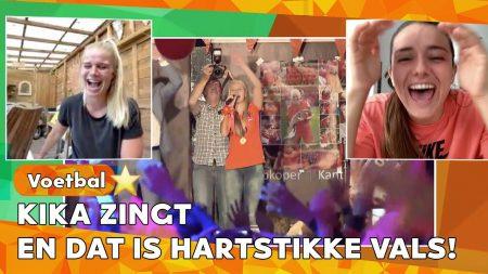 Zappsport – Bellen Met Oranjeleeuwinnen Danielle van de Donk & Kika van Es