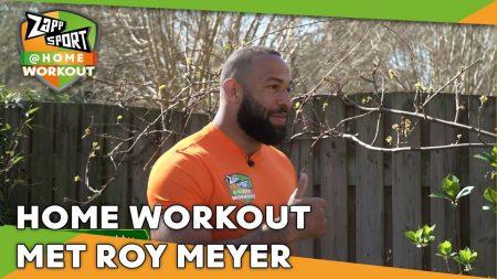 Zappsport – Zappsport@Home Workout Met Roy Meyer – Dag 31