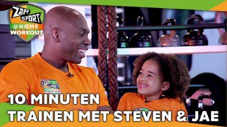 Zappsport – Zappsport@Home Workout Met Steven Brunswijk – Dag 33