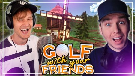 Dylan Haegens Gaming – Golf With Friends! – Met Ronald