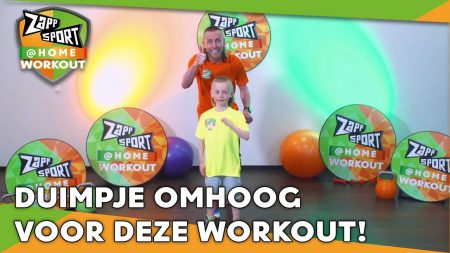 Zappsport – Zappsport@Home Workout Met Nathan Rutjes – Dag 34
