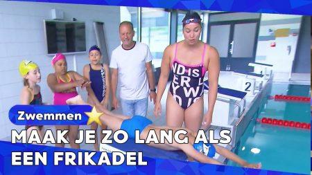 Zappsport – Als Ferry Traint Is Ramoni Badjuf – Zwemmen Tijdens Coronacrisis