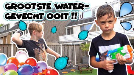 De Bakkertjes – Grootste Watergevecht Ooit In Onze Tuin!! #396
