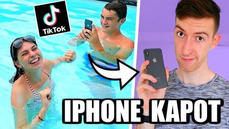 Celine & Michiel – TikToks Maken In Het Water! **iPhone Kapot** #156