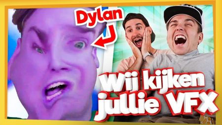 Team Dylan Haegens – Reageren Op Jullie Video's! #2 – VFX