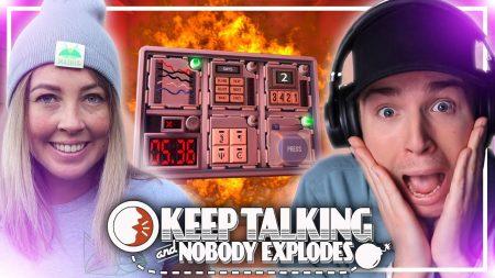 Dylan Haegens Gaming – Keep Talking And Nobody Explodes! – Met Mathia