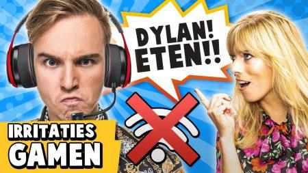 Dylan Haegens – 10 Irritaties Tijdens Het Gamen!