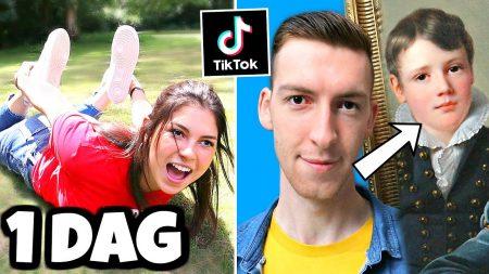Celine & Michiel – 1 Dag Alleen Maar Nieuwe Challenges Proberen! *TikTok* #159