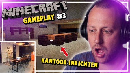 Dylan Haegens Gaming – Ons Kantoor Inrichten! – Minecraft met Rick #3