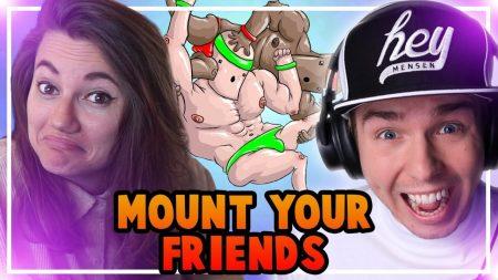 Dylan Haegens Gaming – Mount Your Friends! – Met Puck!