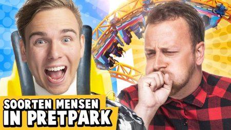 Dylan Haegens – 10 Soorten Mensen In Een Pretpark!