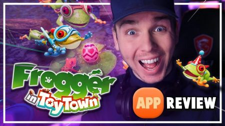 Dylan Haegens Gaming – Frogger In Toy Town! – App Review