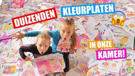 De Zoete Zusjes – Ontknoping Van De Grootste Kleurplaten Wedstrijd Ooit!! [Afl6 Thuis Zit Journaal]