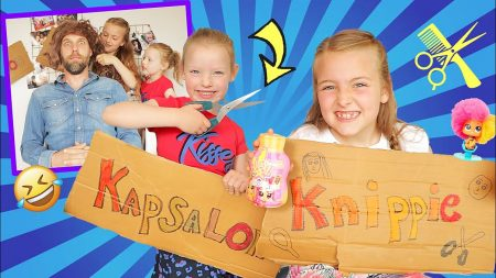 De Zoete Zusjes – Onze Ouders Knippen In Onze Eigen Kapsalon!! [Knippen In Ruil Voor Hairdooz Neonz]
