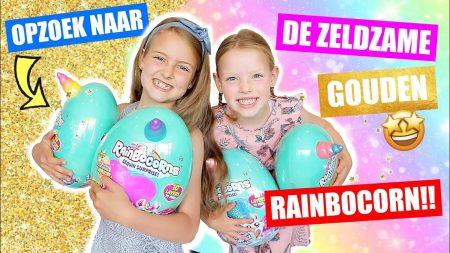 De Zoete Zusjes – De Super Zeldzame Gouden Rainbowcorn Zoeken! [Nieuwste Rainbocorns Serie2 Openmaken]