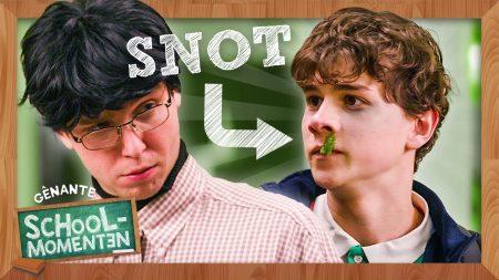 Dylan Haegens – Ik Gleed Uit Over Mijn Snot – Gênante Schoolmomenten #6
