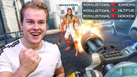 Royalistiq – Keihard Gaan In Mijn Eerste Potje Solo! 🔥 – Hyper Scape Battle Royale