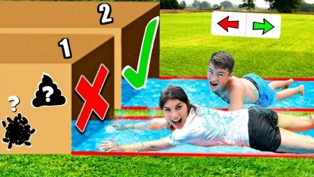 Celine & Michiel – Glijd Niet In De Verkeerde Mystery Box Challenge! #167