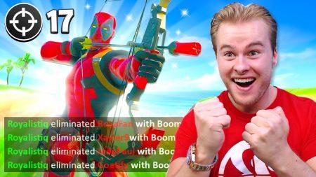 Royalistiq – Mijn Beste Potje Met De Boom Bow Ooit! 😱 – Fortnite Battle Royale