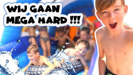 De Bakkertjes – Mega Water Parcours!! Team Jesse vs Team Sem!! #411