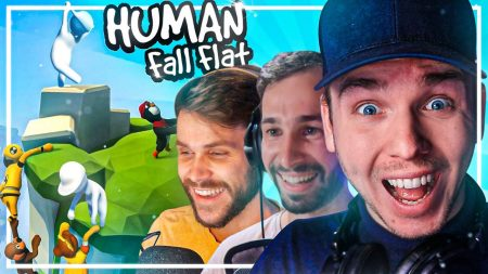 Dylan Haegens Gaming – Human Fall Flat 2.0 – Met Teun en Rens